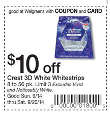 photo relating to Crest White Strips Coupon Printable named Crest white strips coupon walgreens / Amusement coupon