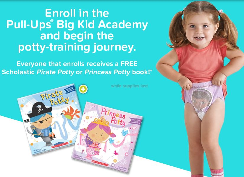 FREE Scholastic Potty Book When You Enroll In Pull-Ups Big ...