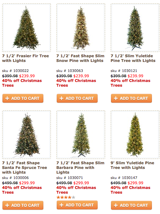 freebies2deals christmas trees - Christmas Trees At Hobby Lobby