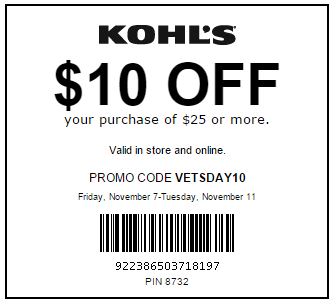 Kohl's often times offers a variety of 15%, 20% and even 30% off your entire order along with free shipping from taboredesc.ga On top of that, their usual promotions offer $10 Kohl's cash for every $50 spent. Kohl's coupons and printable coupons are a must have to be shopping at Kohl's. Save money and use the Kohl''s cash for future purchases!