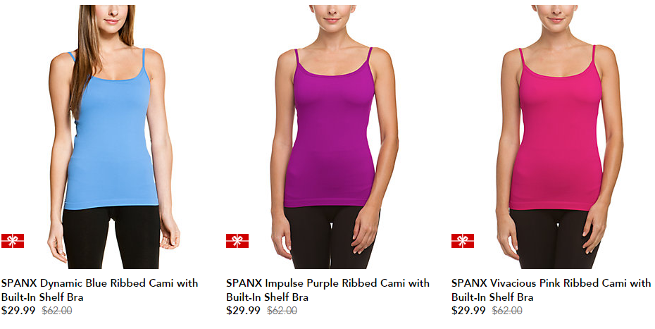 9b00e012eb Spanx is one of those brands that we don t see a lot of really good deals  for. So sales like this are awesome! Freebies2Deals-Ruelala