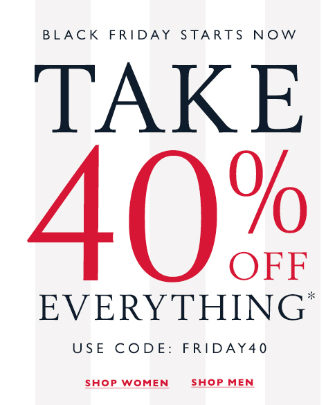 072ad58e Tommy Hilfiger Outlet Black Friday Sale: Take 40% Off EVERYTHING ...
