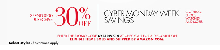 Amazon cyber monday deals start now spend 100 and get for Cyber monday deals mens dress shirts