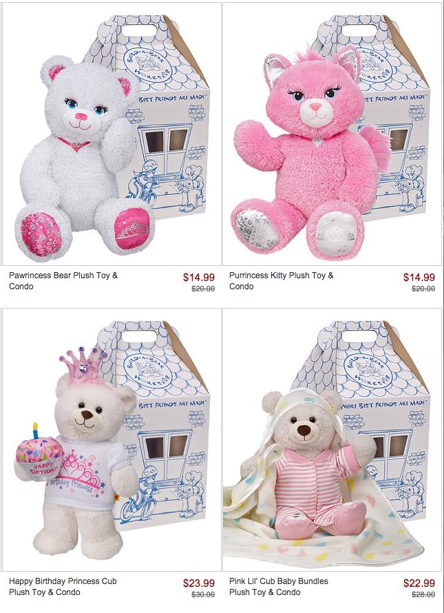 Freebies2deals Build A Bear Zulily
