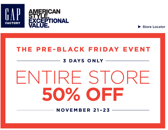 picture relating to Gap Outlet Printable Coupon referred to as Hole outlet coupon black friday - 6 02 discount coupons