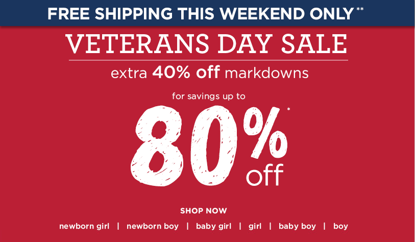 Veterans Day is Sunday, November 11, , but will be observed on Monday, November 12, Find the top Veterans Day sales, deals and discounts online and in stores! Or, get more hot deals here.