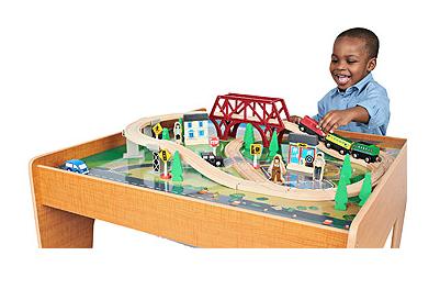 Toys R Us Imaginarium Train Set with Table 55-Piece Only $39.99! (Reg. $79.99)  sc 1 st  Freebies2Deals & Toys R Us: Imaginarium Train Set with Table 55-Piece Only $39.99 ...