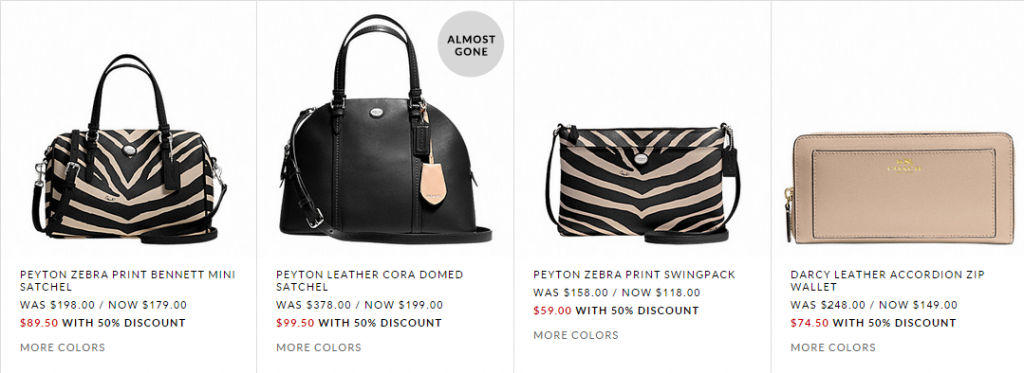 3c1537c7f2 Freebies2Deals-coach Freebies2Deals-coach. Coach Outlet is offering 50% off  EVERYTHING ...