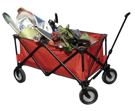 Ozark Trail Folding Wagon Only 36 28 Plus Free In Store