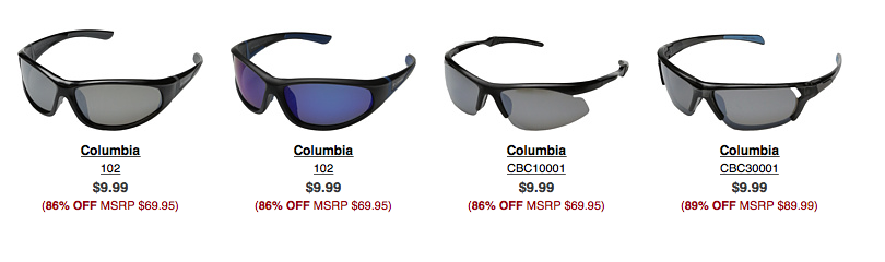 89d9b599475a Men s Columbia Polarized Sunglasses Only  9.99 Shipped! - Freebies2Deals