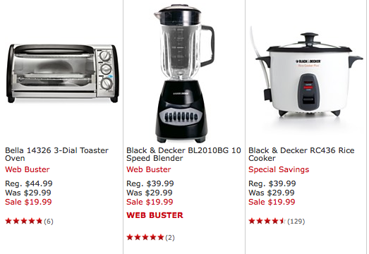 macy's: small kitchen appliances only $19.99! choose from toaster