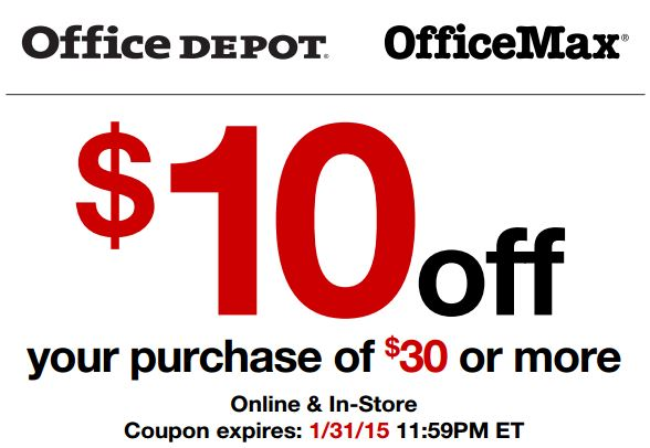 Office depot discount coupons