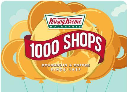 Free Krispy Kreme Doughnut on February 24th! (click for the details)