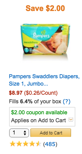 can i use coupons on amazon pantry