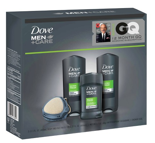 Target: Dove Men GQ Extra Fresh Holiday Gift Bag Only $7.48! (Comes w/ a Bonus 12-Month GQ Subscription!)