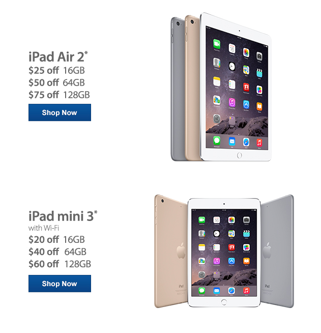 Save Up To $75 on Select iPad Models at Sam's Club! Plus