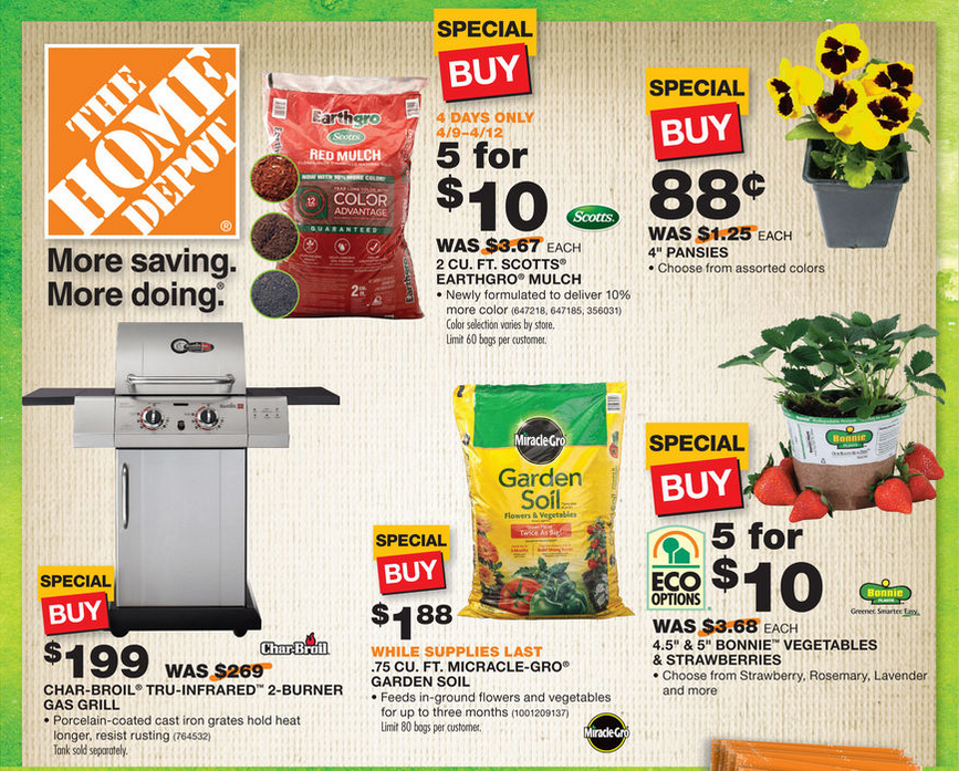 Home Depot Spring Black Friday Starts Today Save on Soil Plants