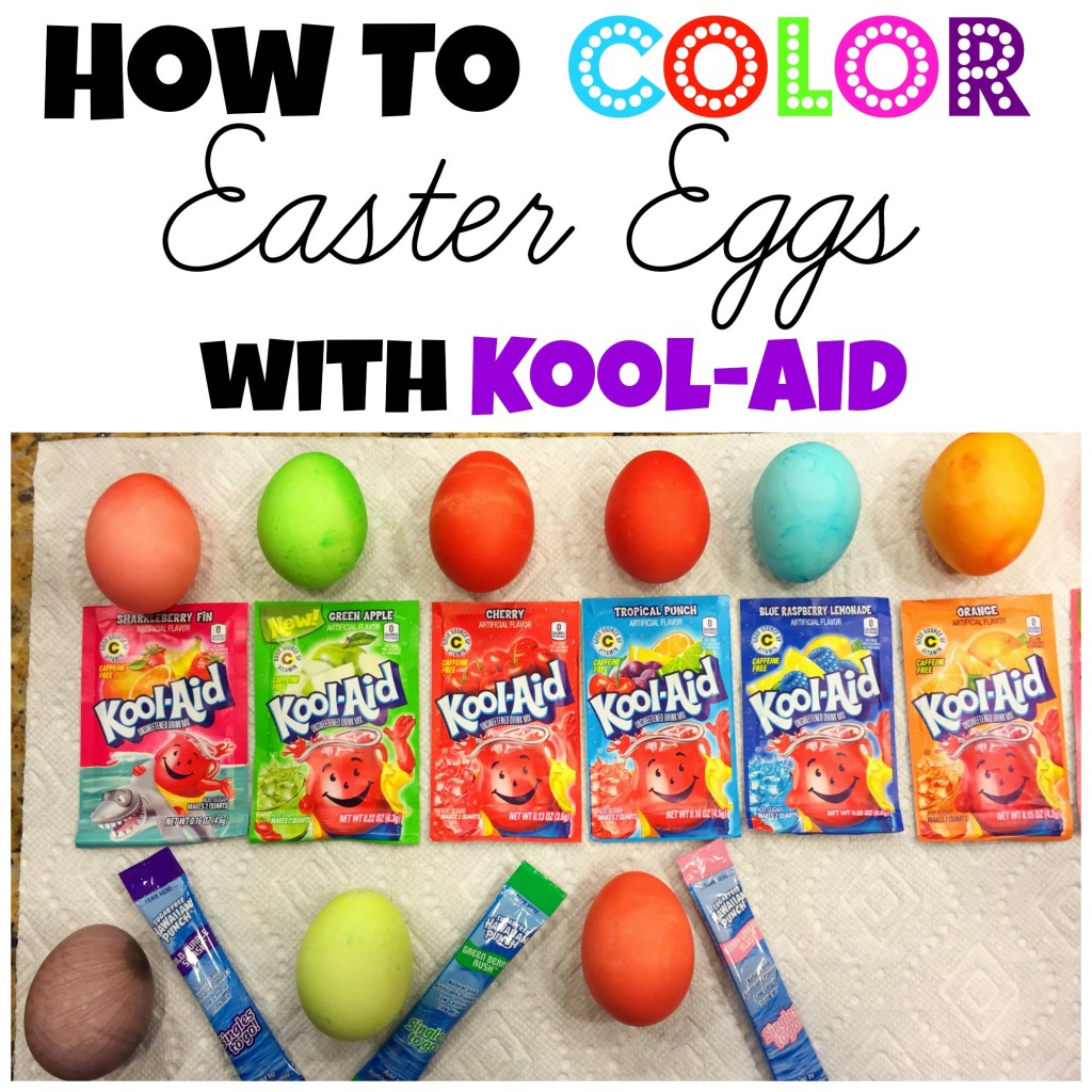 Image Result For Coloring Eggs With Kool Aid