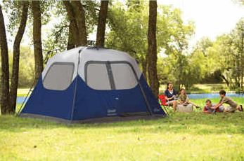 Coleman 10u0027x9u2032 6 Person Instant Tent Only $99.99 Shipped From Costco! (Non-Members Pay Only $5.00 More) & Coleman 10u0027x9u0027 6 Person Instant Tent Only $99.99 Shipped From ...