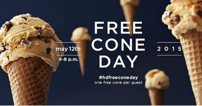 freebies2deals-freeconeday