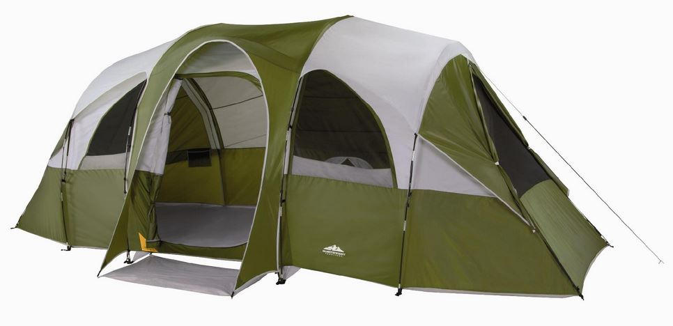 Northwest Territory Eagle River Tent 18u2032 x 10u2032 (Sleeps 8) Only $94.99! Today Only!  sc 1 st  Freebies2Deals & Northwest Territory Eagle River Tent 18u0027 x 10u0027 (Sleeps 8) Only ...