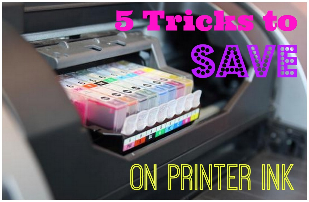 5 tricks to save on printer ink