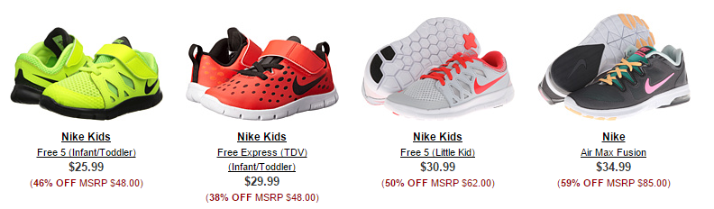 Freebies2deals-6pm Freebies2deals-6pm 6pm has Nike Free shoes ...