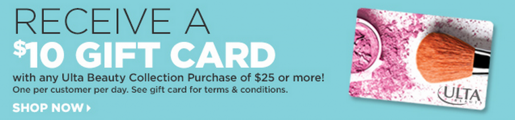 FREE $10 ULTA Beauty Gift Card with $25 Purchase! - Freebies2Deals