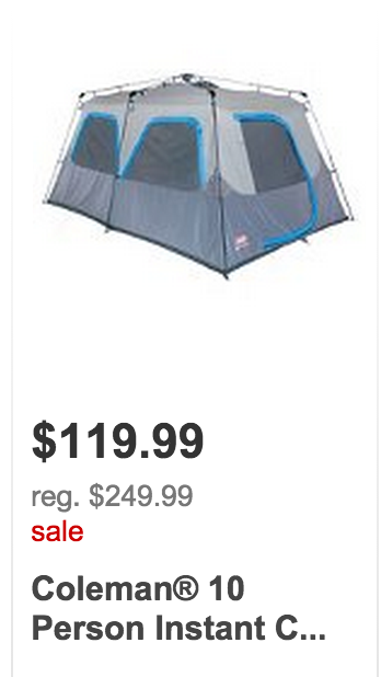 Target Black Friday in July Deals. Coleman 10 Person Instant Tent ...  sc 1 st  Freebies2Deals & Targetu0027s Black Friday in July Sale Has Started! 50% off Toys ...