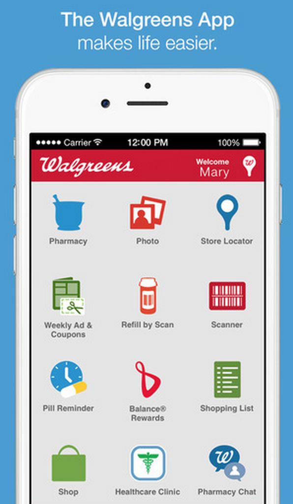walgreens blackberry app