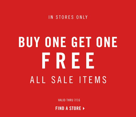 Forever 21 Buy One Get One Free On All Sale Items In