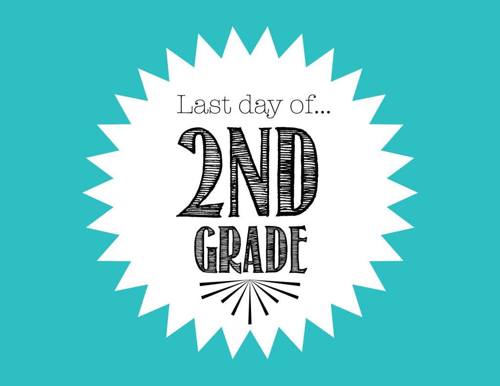 Invaluable image pertaining to last day of 2nd grade printable