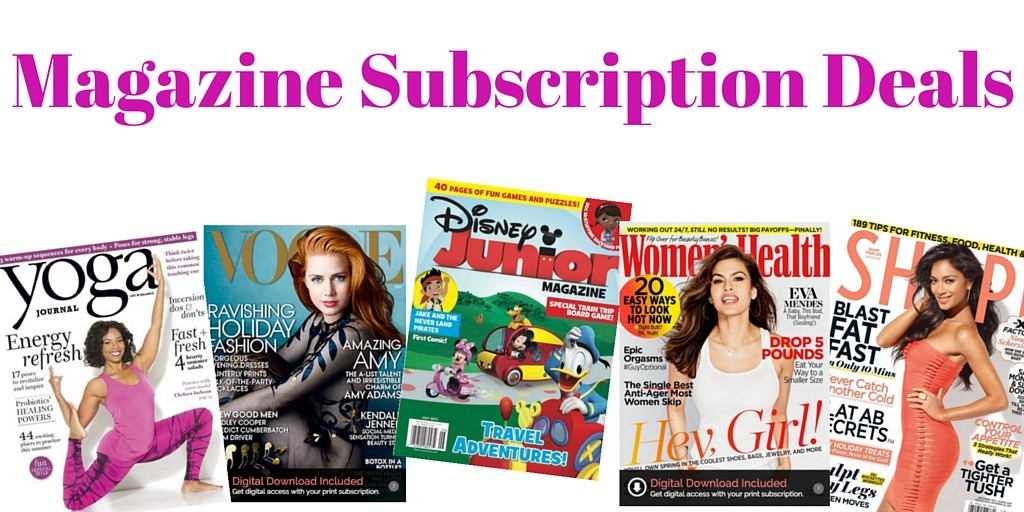 Vogue Magazine is one of the top fashion magazines in the world and is published monthly in 19 different languages. You can purchase a subscription via the website. Sometimes there will be free gifts or coupon codes for a discounted price for new subscribers so check for those before you order.