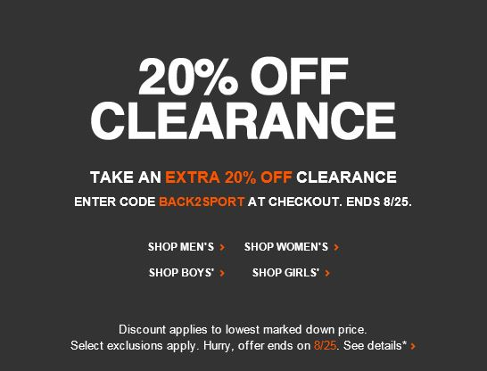 Oct 02, · 25% Off - Get the latest Nike coupons, discounts, and deals for December on Stylinity, the community for footwear, fashion, and accessories! Nike Coupon & Promo Codes () Get the latest Nike discounts and deals on Stylinity. Shop The Looks. Save an additional 20% off clearance items with this coupon! get coupon code. Save 25% 95%().