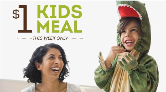 Kid 39 S Meal Only At Olive Garden With Paying Adult