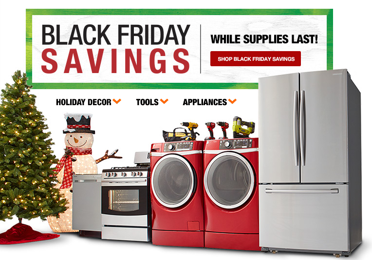 Home Depot Black Friday Deals Are Live Now! Appliances 40% ...