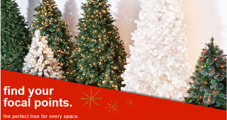 Has their christmas trees on sale plus you can save an additional 15