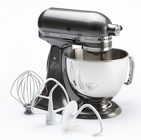 Kohl's has the KitchenAid KSM150PS Artisan 5qt. Stand Mixer for $