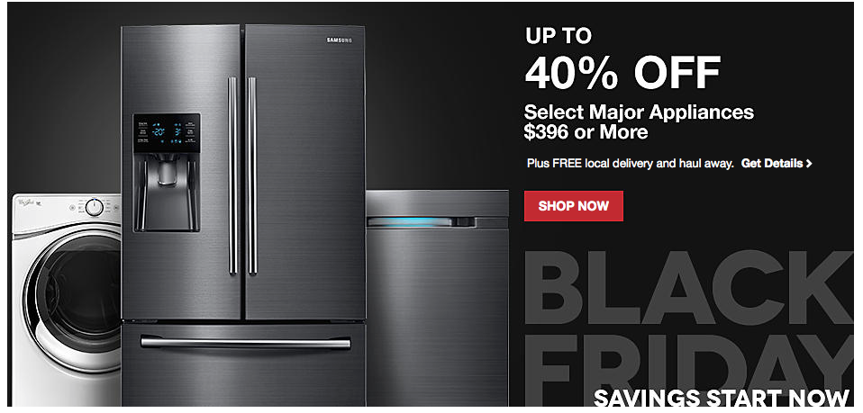 black friday deals available now at lowes major appliances christmas trees decor more - Black Friday Deals On Christmas Trees