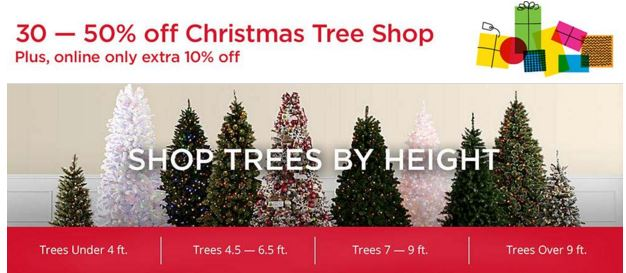 kmart christmas tree shop 30 50 off plus an extra 10 off when you shop online - Kmart Christmas