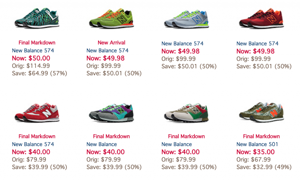 5. Check the Eastbay coupon collection. Visit the collection of Eastbay online coupons to browse current codes. In the past, we've seen coupons good for up to 15% off orders. Eastbay constantly updates its coupons; keep an eye on the collection so you don't miss a deal. 6. Shop the sale section/5(73).