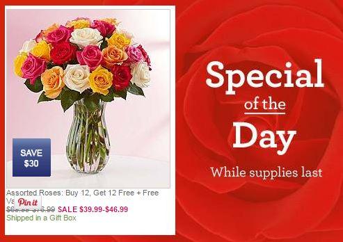 Best Flower Deals To Grab For Valentineu0027s Day!