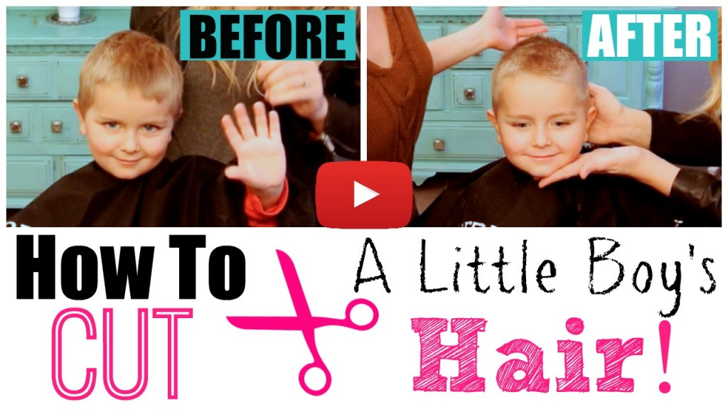 How To Cut Little Boy S Hair With Clippers Scissors