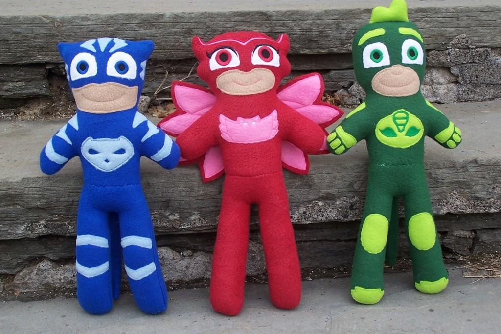 PJ Masks Fleece Dolls Available! (HARD to Find ...