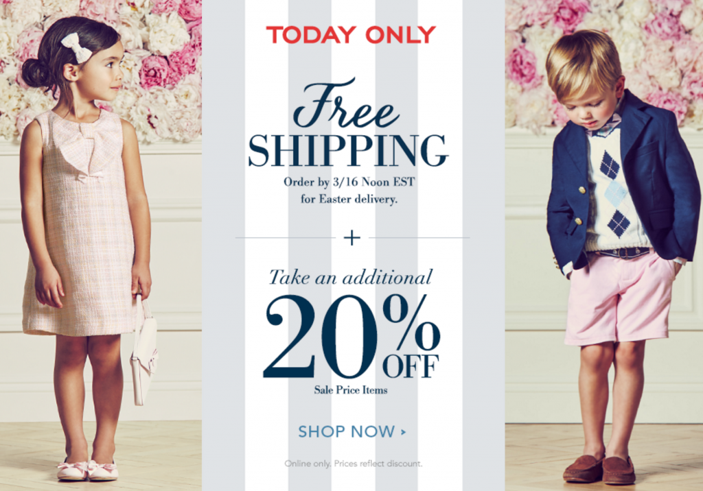 0307b41f50e3 Janie & Jack: Take An Additional 20% Off Sale Merchandise & Get FREE ...