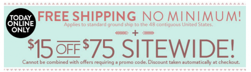 Charlotte russe free shipping coupon 2018