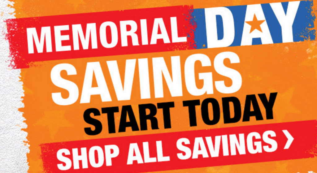 Home Depot Memorial Day Sale 10 Off Gallon Paint Cans 40 Off 5