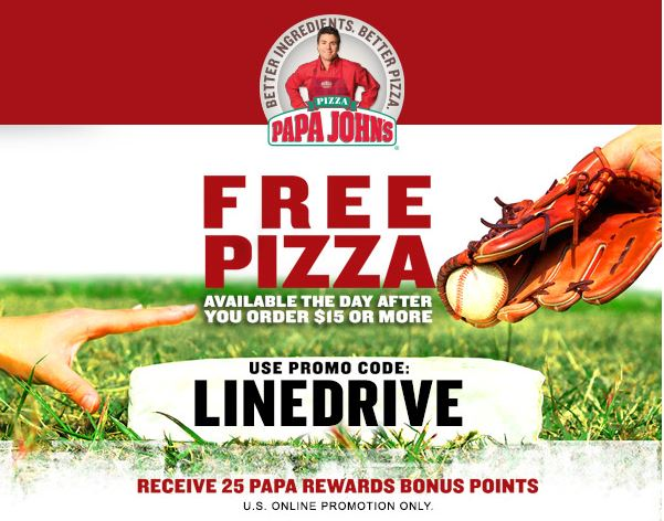 Browse for Papa John's coupons valid through December below. Find the latest Papa John's coupon codes, online promotional codes, and the overall best coupons posted by our team of experts to save you 25% off at Papa John's.