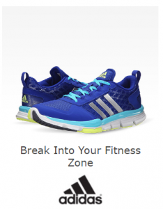 If you are looking for deals on sporting gear, be sure and head over to 6pm.com!  Right now you can save up to 70% on Adidas Shoes, Clothing and Gear!