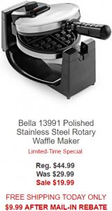 bella-waffle maker